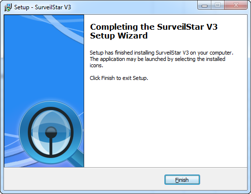 Setup SurveilStar Completed
