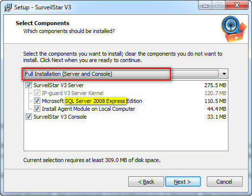 Create SurveilStar moniroting Agent setup file